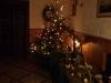 Die Weihnachtskrippe am Abend