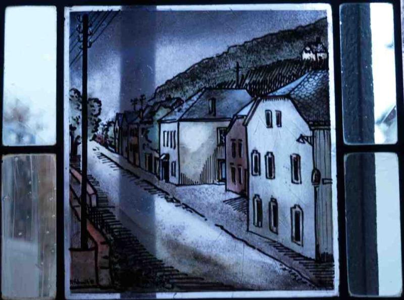 Fensterbild: Trierstrasse nach Luxemburg