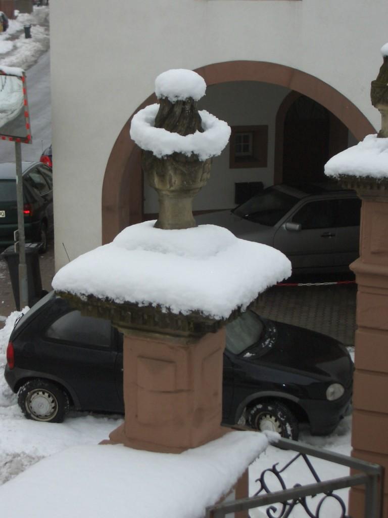 Torturm im Winter