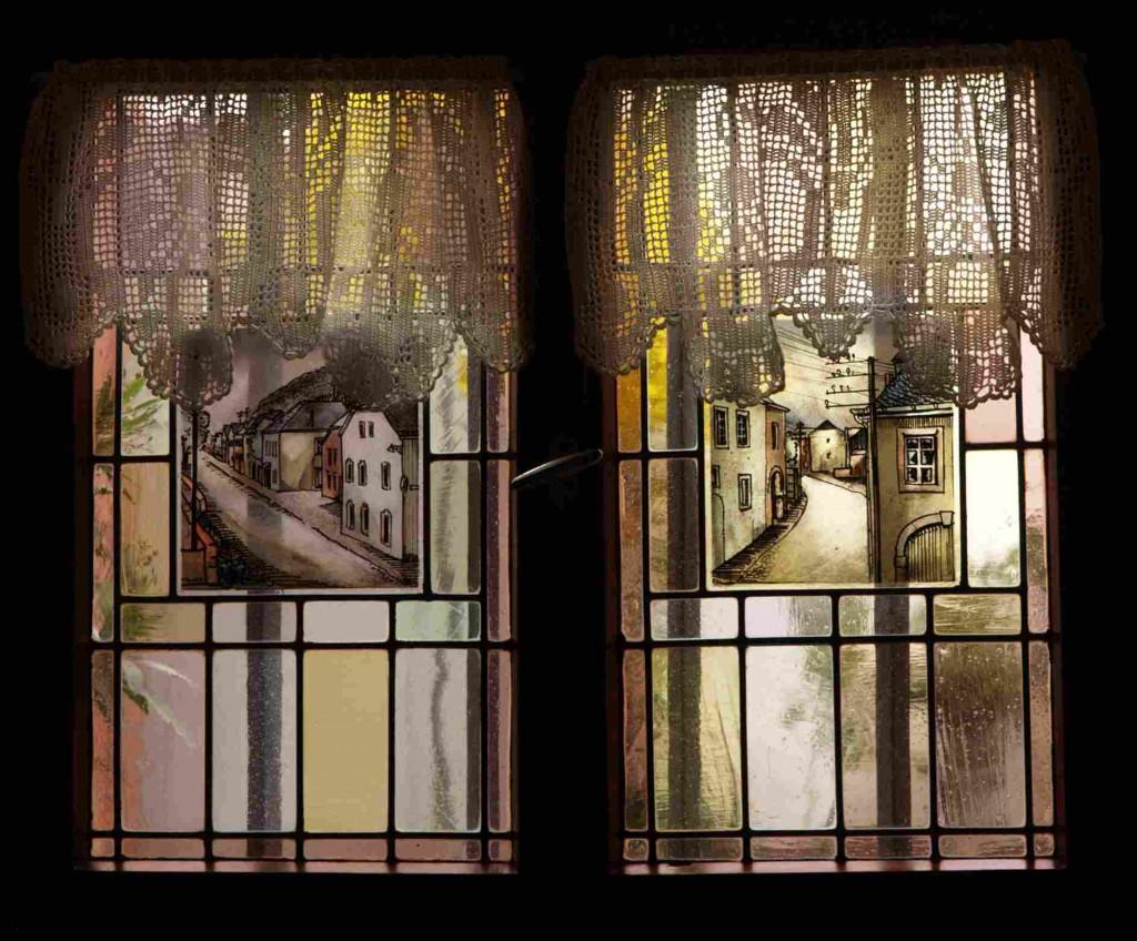 Aussenfensterbild  - Triererstrasse in beide Richtungen